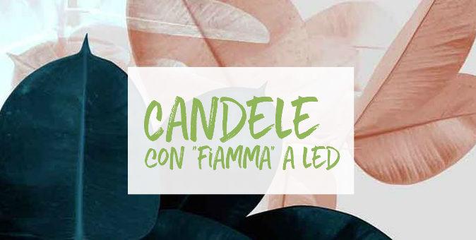 Candele led senza fiamma| shop online