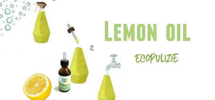 Pulire, risparmiare e rispettare l'ambiente con l'olio essenziale al limone