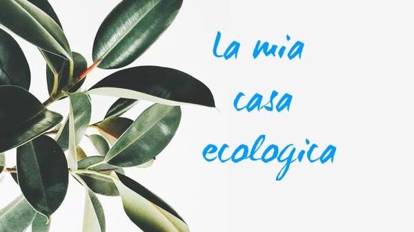 La mia casa ecologica : come orientarsi nel modo giusto senza sprechi