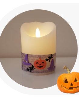 candela per Halloween