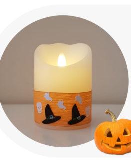 candela a led per Halloween