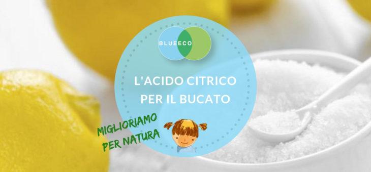 L'acido citrico per il bucato: l'ammorbidente ecologico