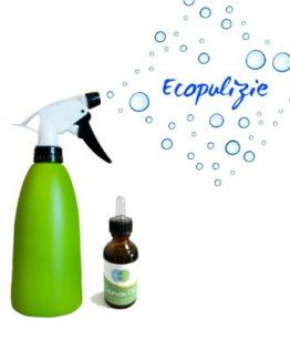 Lemon oil & Spruzzino - Detergente ecologico multiuso profumato