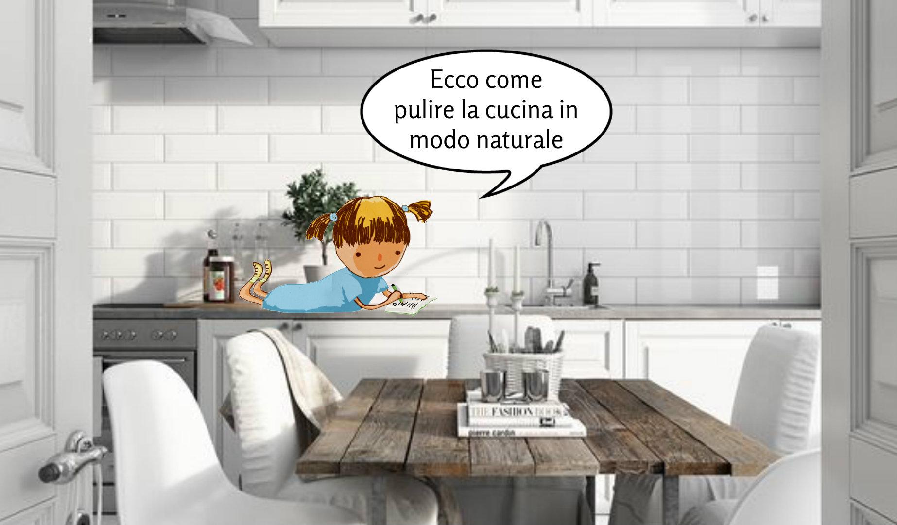 Come pulire la cucina con prodotti naturali blueeco - Pulire la cucina ...