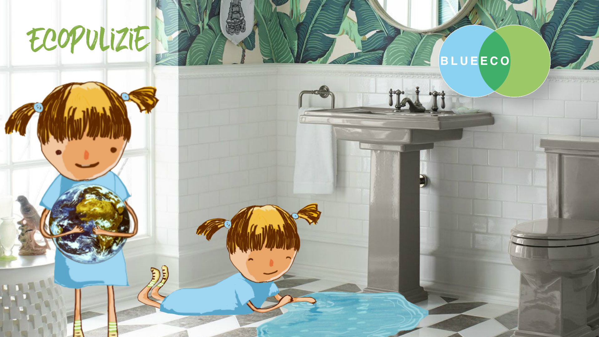 Pulire il bagno con prodotti ecologici blueeco - Pulire il bagno ...