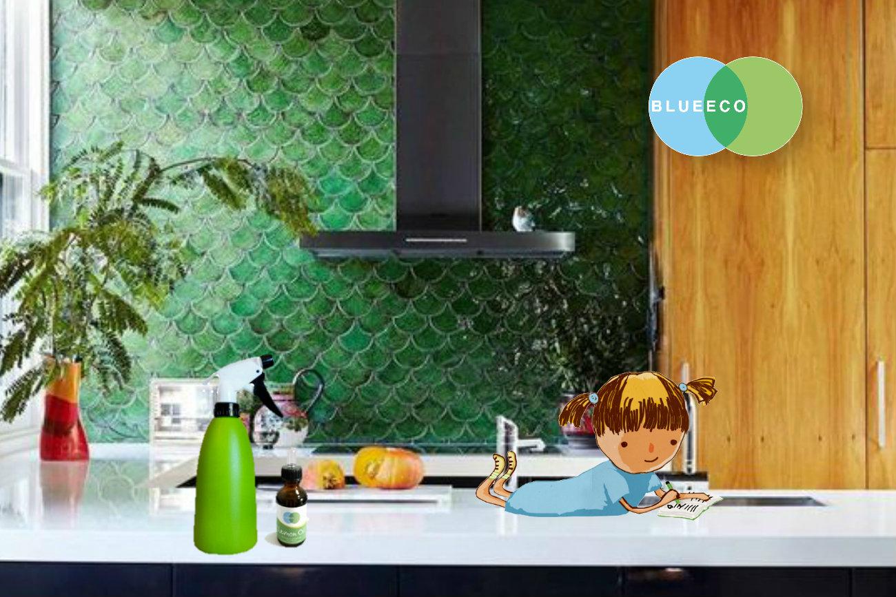Come pulire la cucina con prodotti naturali blueeco
